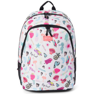 Rip Curl Summer Time Proschool Sac à Dos 2 compartiments White