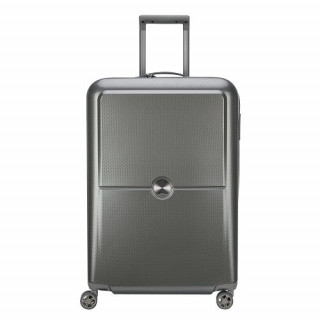 Delsey Turenne Valise Trolley 4 Doubles Roues 70 cm Argent  2