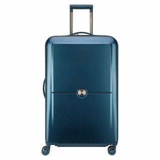 Delsey Turenne Valise Trolley 4 Doubles Roues 75 cm Bleu Nuit 1