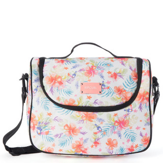 Rip Curl Toucan Flora Large Vanity Case White