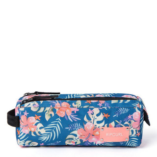 Rip Curl SToucan Flora Trousse Double Compartiment Navy
