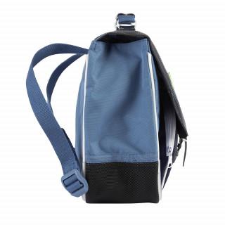 Tann's Bleu De Prusse Cartable biciolre 32cm Bleu
