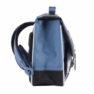 Tann's Bleu de Prusse Cartable 35cm Bleu cote