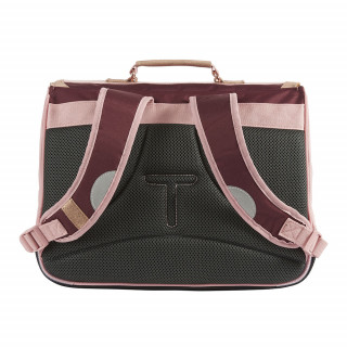 Tann's Palermo Cartable 38cm Bordeaux Rose