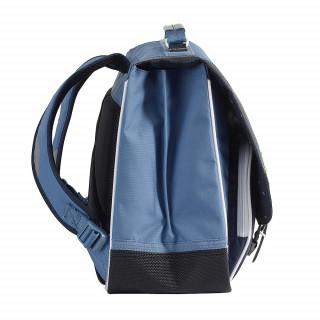 Tann's Bleu de Prusse Cartable 41cm Bleu cote 2