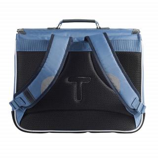 Tann's Bleu de Prusse Cartable 41cm Bleu