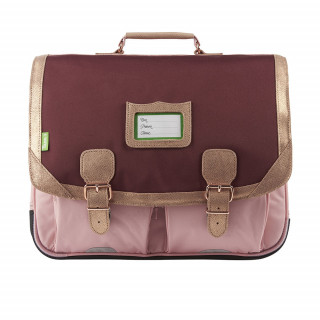 Tann's Palermo Cartable 41cm Bordeaux Rose