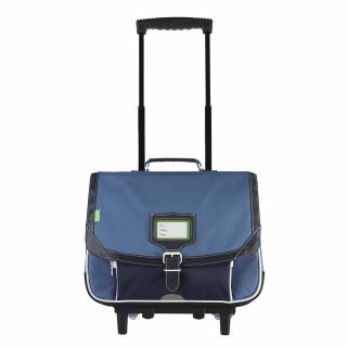 Tann's Bleu de Prusse Cartable Trolley 38cm Bleu