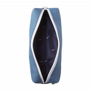 Tann's Bleu de Prusse Trousse simple Bleu ouvert