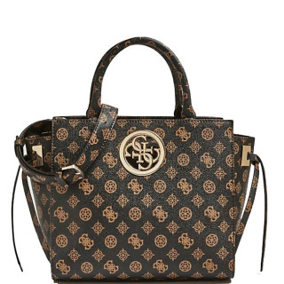 Guess Oprn Road Sac Porté Main Imprimé 4G Brown