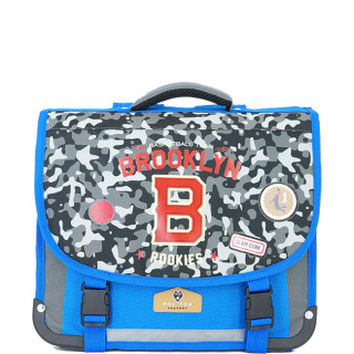 Pol Fox Cartable 35cm Brooklyn Bleu