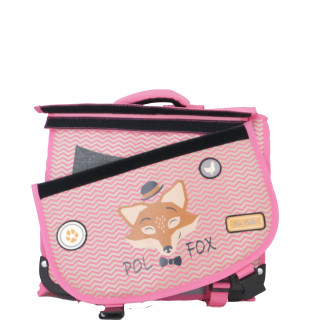 Pol Fox Cartable Reversible 35cm The Coolest Rose renart