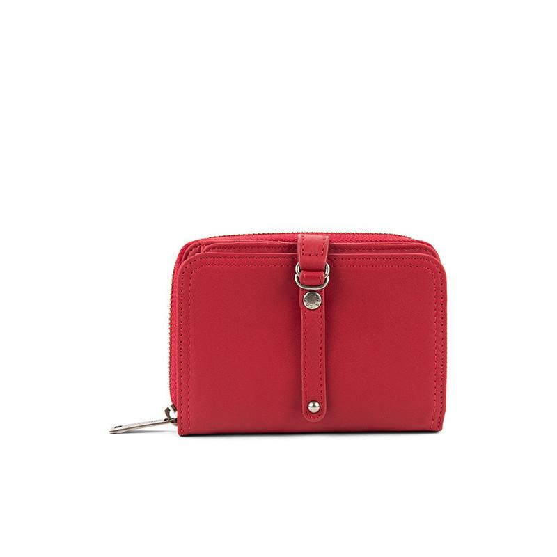 Lancaster Soft Vintage Nova Portefeuille 120-60-Rouge