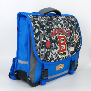 Pol Fox Cartable 38cm Brooklyn Bleu