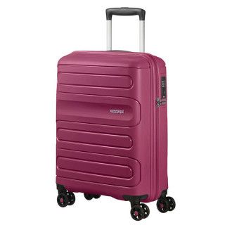 American Tourister Sunside Spinner 55 cm Valise Cabine Trolley 4 Roues Raspberry 1