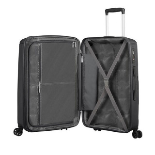 American Tourister Sunside Spinner 68 cm Valise Trolley 4 Roues Black