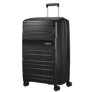 American Tourister Sunside Spinner 77 cm Valise Trolley 4 Roues Black