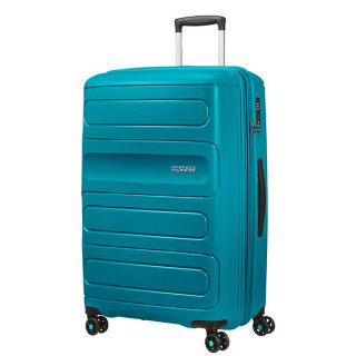 American Tourister Sunside Spinner 77 cm Valise Trolley 4 Roues Teal