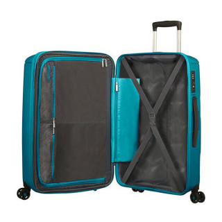 American Tourister Sunside Spinner 77 cm Valise Trolley 4 Roues Teal 3