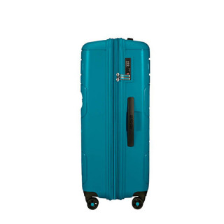 American Tourister Sunside Spinner 77 cm Valise Trolley 4 Roues Teal 4