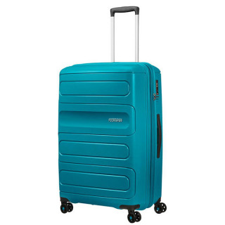 American Tourister Sunside Spinner 77 cm Valise Trolley 4 Roues Teal 5