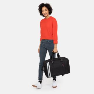 Eastpak Tranzpack Sac A Dos Business et Bagage Cabine 26y Reflective Black porté