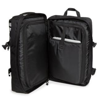 Eastpak Tranzpack Sac A Dos Business et Bagage Cabine 26y Reflective Black Ouvert