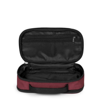Eastpak Flat Oval L Trousse Double 23s Crafty Wine ouvert