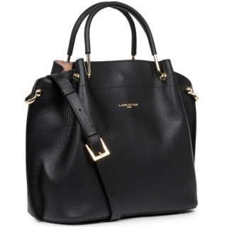 Lancaster Foulonne Double Grand Sac A Main Louisa 470-18 Noir In Nude