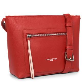 Lancaster Pure - Element Fouled Bag Shoulder Bag 470-11 Red in Powder