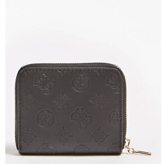 Guess Peony Classic Portefeuille Compact Black dos