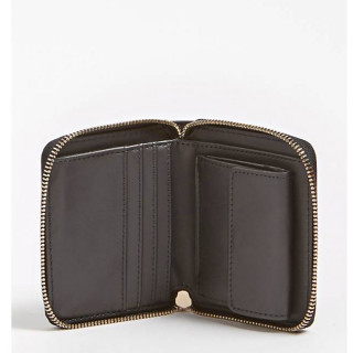 Guess Peony Classic Portefeuille Compact Black ouvert