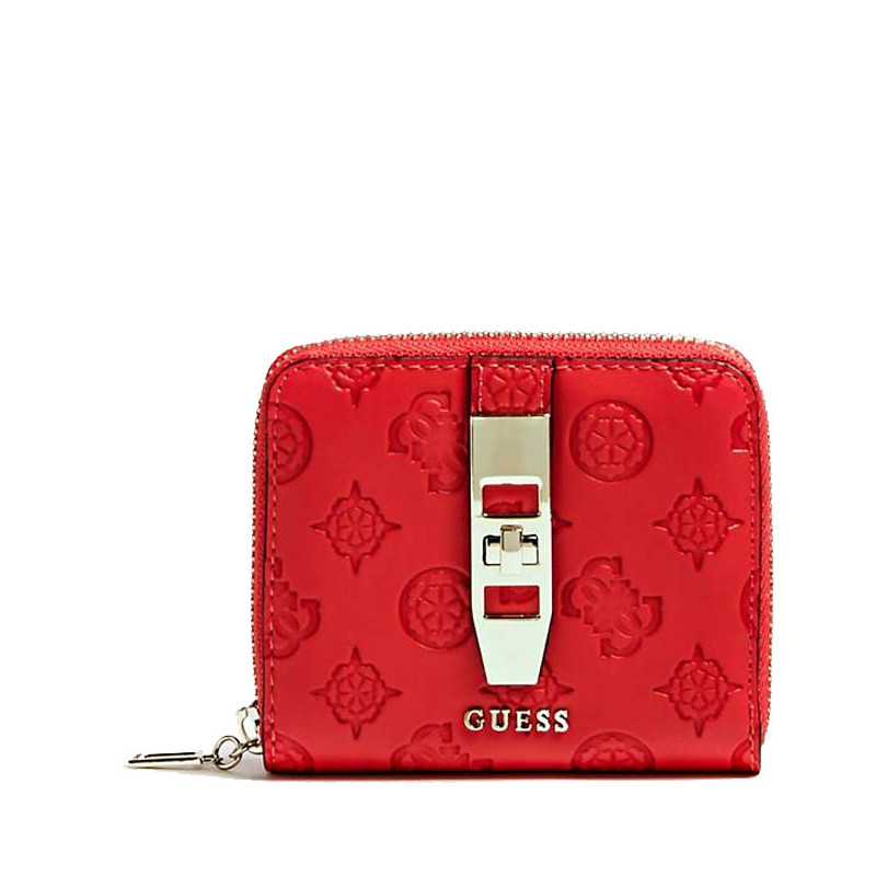 Guess Peony Classic Portefeuille Compact Poppy
