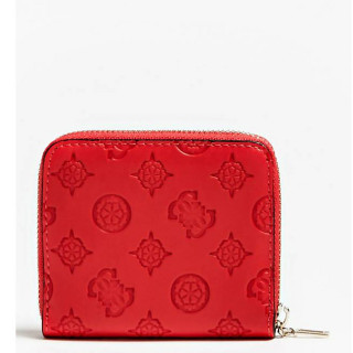 Guess Peony Classic Portefeuille Compact Poppy dos