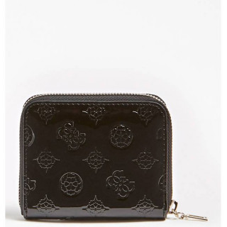 Guess Peony Shine Portefeuille Compact Black dos