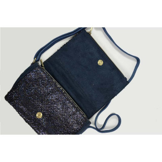 Mila Louise Niny Jewel Sac Porté Travers Bleu