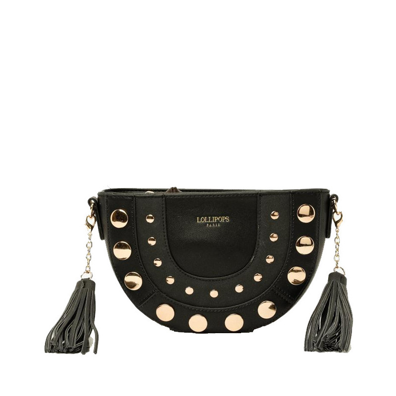 Lollipops Egerie Sac Trotteur Clouté Black
