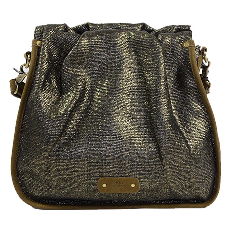 Mila Louise Percy EPI Sac Shopping Taupe