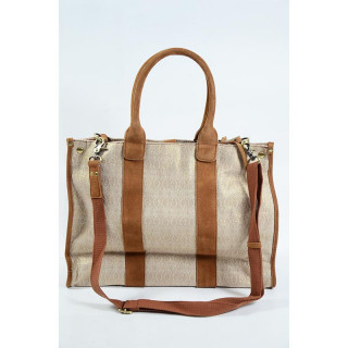 Mila Louise Prudence Aztec Sac Shopping Gold