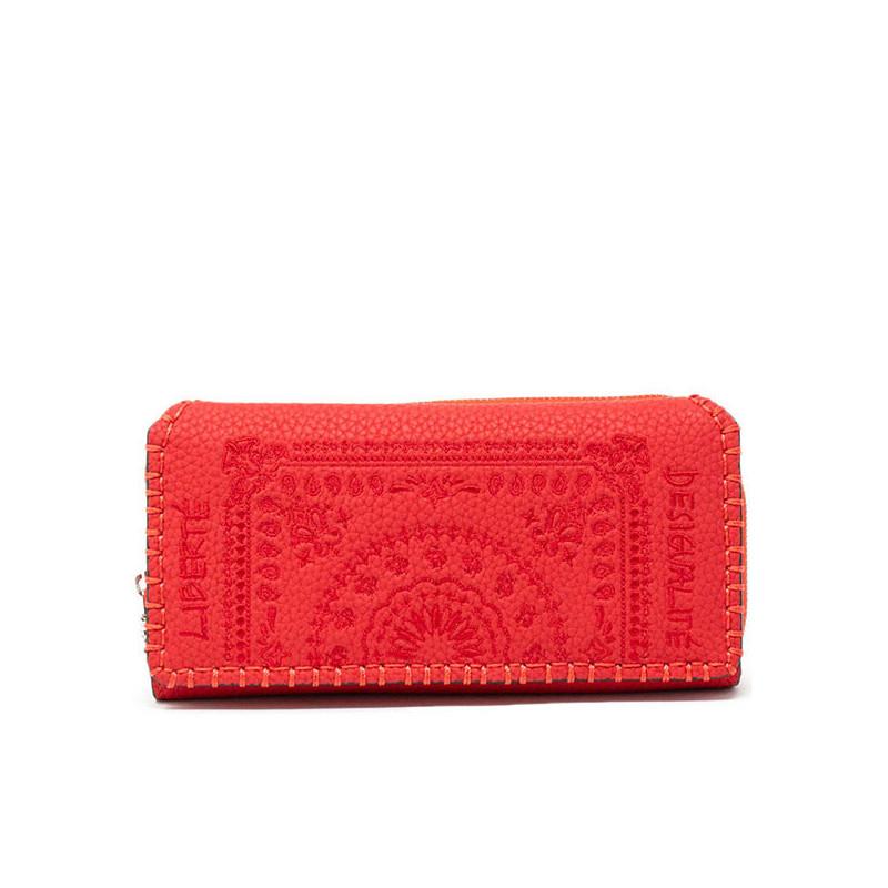 Desigual Portefeuille Maria Soft Bandana rouge