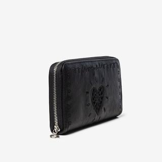 Desigual portefeuille zip around noir