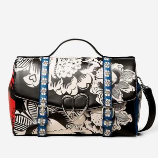 Desigual sac à main floral blomming winter bronx