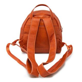 sac à dos desigual orange