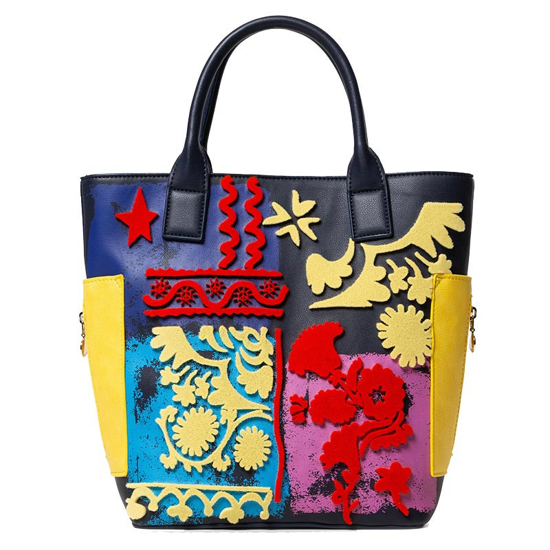 Desigual sac shopping multicolor