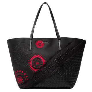 desigual sac shopping brodrie mandala