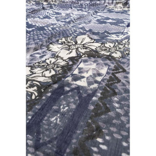 desigual foulard imprimé serpent