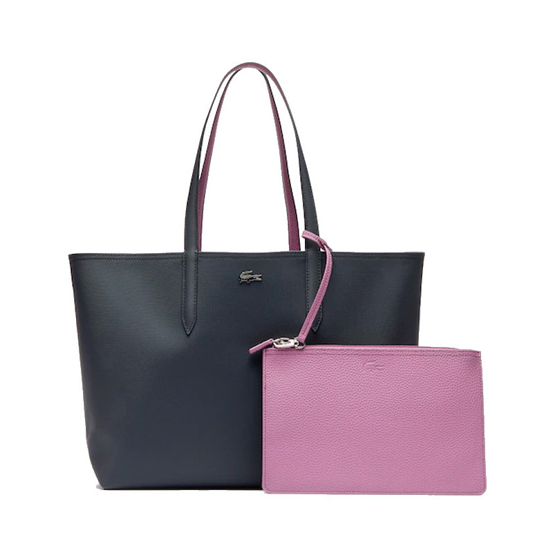 Lacoste Sac Cabas Reversible Anna Ebony Orchid