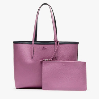 Lacoste Sac Cabas Reversible Anna Ebony Orchid face 2