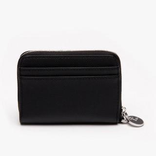 Lacoste Petit portefeuille zip Daily Classic Black
