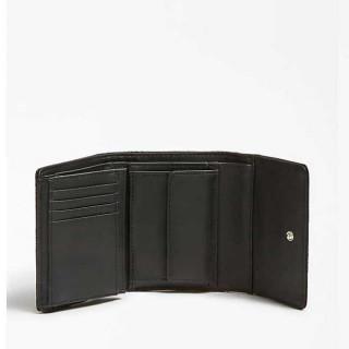 Guess Janelle Portefeuille Compact Black
